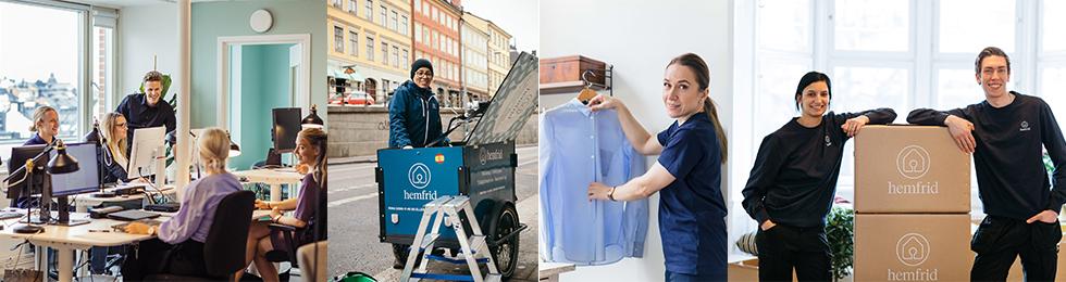Fönsterputsare kombinerat med hemstäd i centrala Göteborg