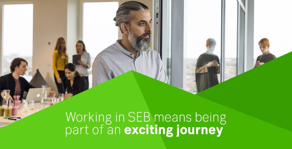 Vi fortsätter att växa! Nu söker vi på SEB i Örnsköldsvik två kollegor!