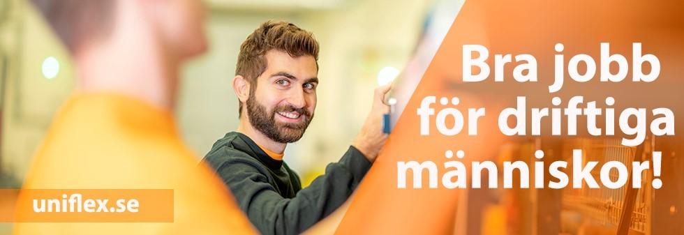 Uniflex söker Servicetekniker i Örebro