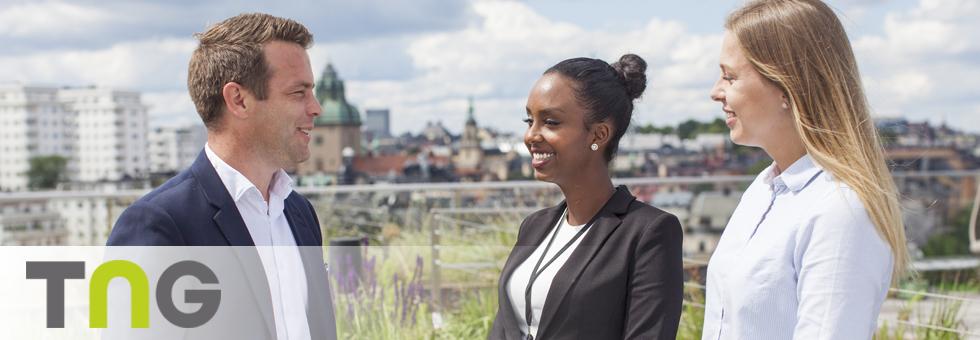 Extrajobb som visningsvärd på Bonava i Stockholm